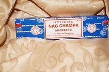 Original Satya Sai Baba Nag Champa Incense 40 grams Free Shipping!