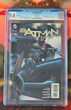 The New 52 Batman #28 (DC, Apr 2014) CGC 9.8 Variant Cover, White Pages