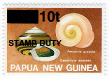 (I.B) Papua New Guinea Revenue : Stamp Duty 10t
