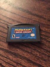 Mario Kart Super Circuit (Nintendo Game Boy Advance, 2001) GBA Cart L@@K