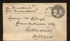 1893 New York  Historical Cover Columbus & Liberty 10c USA Stamp #U351
