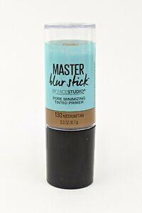Maybelline 130 Medium Tan Facestudio Master Blur Stick Primer Pore Minimizing