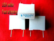 4 pc- .022uf (0.022uf, 22nf) 630v metalized film capacitors (gry) FREE SHIPPING