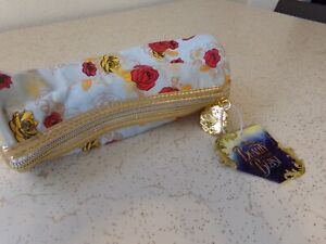 Disney Beauty and the Beast **ROSE** Makeup Clutch NWT
