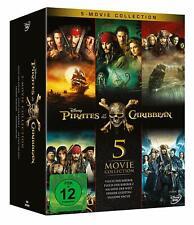 Fluch der Karibik - Pirates of the Caribbean - Teil: 1 - 5 [5 DVD's/NEU/OVP]