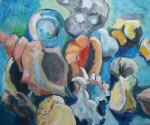 Josie Capstick 1932-1998 - Still life of sea shells