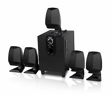 HIPOINT AUDIO 5.1 SURROUND SOUND SPEAKER SYSTEM WITH BLUETOOTH & USB