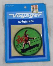 Vintage 1970s Voyager Long Board Skater Boarder Patch Surfer Embroidered 360 deg