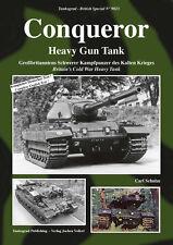 TANKOGRAD 9023 CONQUEROR HEAVY GUN TANK BRITAIN'S COLD WAR HEAVY TANK