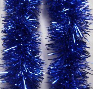 2M (6.5Ft) Luxury Chunky Tinsel Christmas Tree Decoration Xmas Garland 13 Colour
