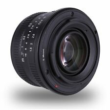 Kaxinda 25mm F/1.8 APS-C Manual Focus Fixed Lens For Sony E Mount A6000 A6300 A7