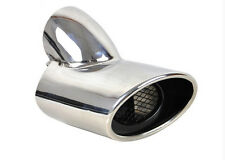 Stainless Steel Tail pipe exhaust pipe cover 1pcs For Ford Focus 3 2012 - 2014