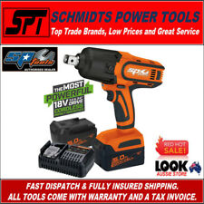 """SP TOOLS SP81140 18V 3/4"""" DRIVE CORDLESS IMPACT WRENCH KIT 2x 5.0Ah BATTERIES"""