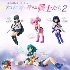 5pcs Sailor Moon Pluto Chibi Moon Satrun Neptune Uranus 3-6cm PVC Figure Set