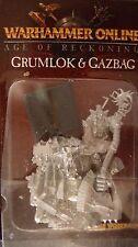 Warhammer Fantasy Edición Limitada orcos & goblins GRUMLOK & GAZBAG MIB fuera de imprenta en línea