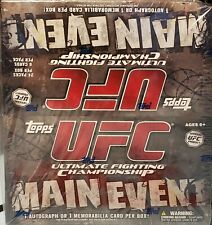 💥2010 Topps UFC Main Event Retail Box 24 packs per box❗