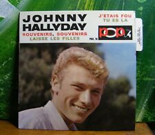 ♫ 45 T VINYL - JOHNNY HALLYDAY - SOUVENIRS,SOUVENIRS ♫