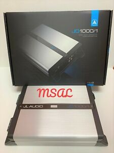 JL Audio JD1000/1 Mono Subwoofer Amplifier 1000 Watts RMS X 1 @ 2 Ohms NEW