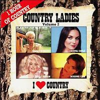 Country Ladies, I Love Country Vol. 2, Various Artists, Audio CD, Acceptable, FR