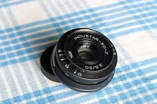 Industar-50-2 3,5/50 m42 pancake lens for SLR camera Soviet USSR