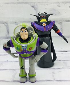 Disney Pixar Toy Story Evil Emperor Zurg & Buzz Lightyear Gray Limited Lot Set