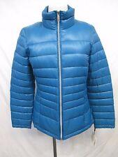 Calvin Klein Women's Small  Teal Down Packable Puffer Jacket W197