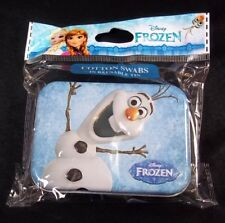 Disney Frozen Olaf collectible 3D tin 30 cotton swabs new & sealed #17