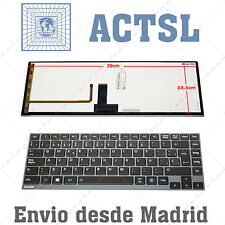 Keyboard Spanish for Toshiba Satellite Satelite Z930 with Frame