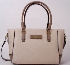 Calvin Klein Logo Jacquard Shopper Tote Shoulder Bag