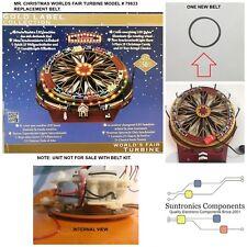Mr. Christmas World's Fair Turbine  model# 79833  REPLACEMENT DRIVE BELT PART