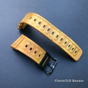 Rare BAND 141F5 for 1987 CASIO G-Shock DW-5600C-9BV Yellow Speed - Free Shipping