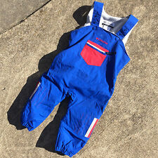 Vintage Kids Baby Toddler Columbia Snow Ski Winter Suit Onsie Pants Overalls 24