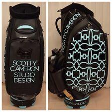Scotty Cameron 2015 Tiffany SC Dog Pattern Staff Bag Tour Stand Golf Studio New