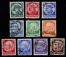 OPC 1932-3 Germany Sets Sc#391-400 Mi#467-473 479-481 Used