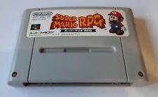 SNes Super Mario RPG Squaresoft NTSC Japan Super Famicom