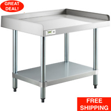 24 X 30 Stainless Steel Work Prep Table Commercial Equipment Stand Undershelf
