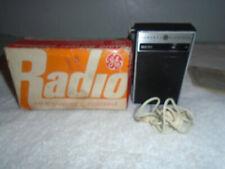 GE P-2790 Portable AM Hand Held Radio ear phones