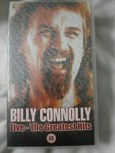 Billy Connolly - Live - The Greatest Hits (VHS, 2001)