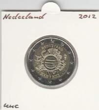 Nederland 2 euro 2012 UNC : 10 Jaar Euro munt