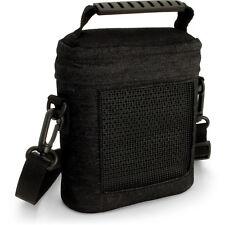iGadgitz Black Fabric Travel Carrying Bag for Bose SoundLink Colour Bluetooth SP