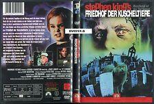 DVD - Friedhof der Kuscheltiere - Stephen King / Erstauflage  FSK 18 - UNCUT