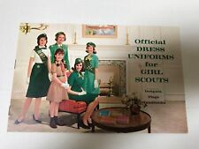 Vintage Official Dress Uniforms for Girl Scout in Mind Condition 1950's/60/s