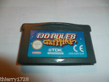 JEU GAME BOY ADVANCE CARTOUCHE SEULE  NO RULES GET PHATS
