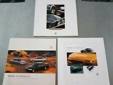 1999 1997 1996 Acura Brochure poster 🔥 NSX Integra RL TL CL SLX lot of 3