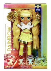Rainbow High Cheer Doll - Sunny Madison New Boxed- Latest Toy