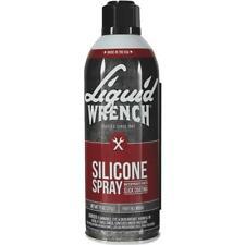 Liquid Wrench Heavy Duty Silicone Spray Lubricant w/ Cerflon 11 Oz M914