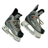Bauer Vapor X30 Ice Hockey Skates Youth Size 2.5D (Shoe Size 3.5) Lace Up *