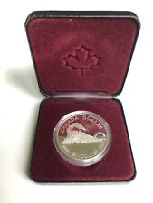 Canadian 1986 Silver Dollar 100th Anniversary Railroad Vancouver Uncirculated