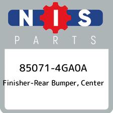85071-4GA0A Nissan Finisher-rear bumper, center 850714GA0A, New Genuine OEM Part