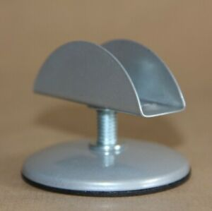 M8 MATT CHROME Threaded Stem Adjustable Furniture Feet 60 mm. FURNITURE BOARD 18